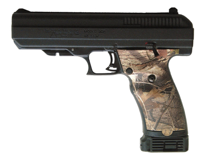 Picture of Hydro dipped Woodland camo grips for JCP or JHP handgun
