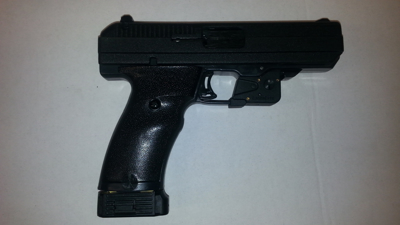 Picture of Laserlyte trigger guard Laser. For all Hi-Point poly frame guns.