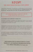 Picture of Replacement JCP Instruction sheet